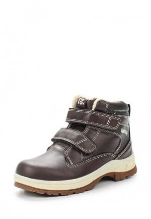 Ботинки Fullstop. Цвет: коричневый