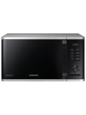 Микроволновая печь с грилем Samsung MG23K3515AS/BW. Цвет: серебристый