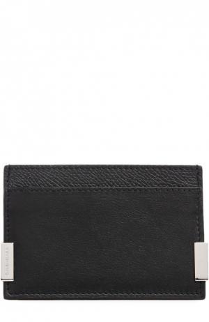 Футляр для кредитных карт Balenciaga. Цвет: черный