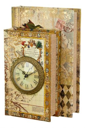 Шкатулка с часами Дуэт Arthouse. Цвет: мульти