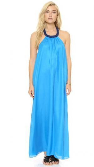 Платье Jalen Rae Francis. Цвет: бирюзовый