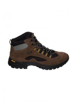 Ботинки Brutting. Цвет: коричневый, желтый, черный