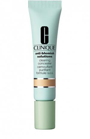 Противовоспалительный маскирующий карандаш для всех типов кожи, тон 02 Clinique. Цвет: бесцветный