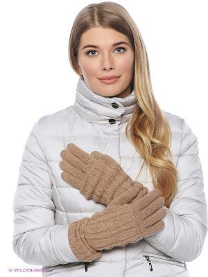 Перчатки FOMAS. Цвет: темно-бежевый