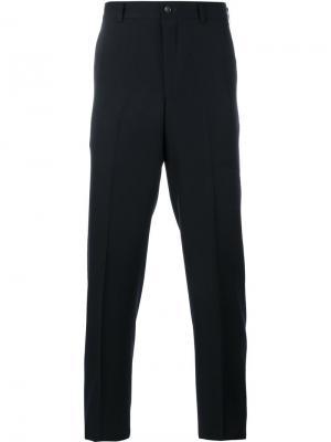 Классические брюки строгого кроя Comme Des Garçons Homme Plus. Цвет: синий