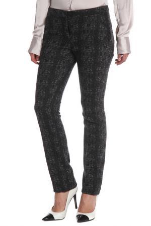 Прямые брюки с карманами Costume National. Цвет: q001, серый, черный