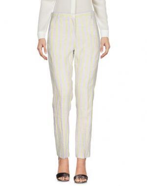 Повседневные брюки MASSIMO ALBA. Цвет: кислотно-зеленый