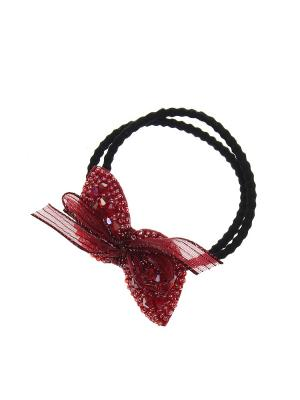 Резинка Migura. Цвет: бордовый, черный