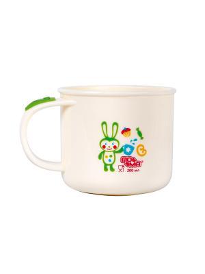 Чашка детская 200 мл. ПОМА. Цвет: кремовый