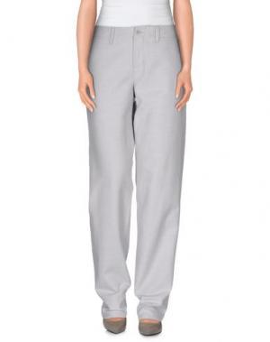 Повседневные брюки MER DU NORD. Цвет: светло-серый