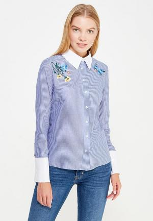 Блуза Ad Lib. Цвет: голубой