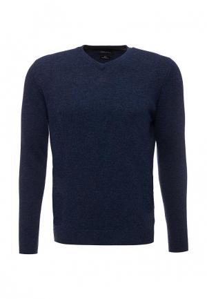 Пуловер Cortefiel. Цвет: синий