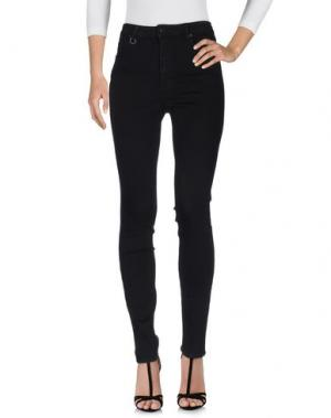 Джинсовые брюки NEUW. Цвет: черный