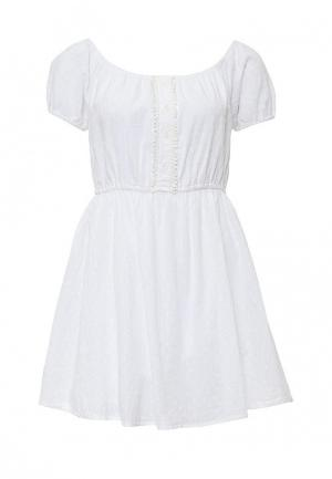 Платье Brave Soul. Цвет: белый