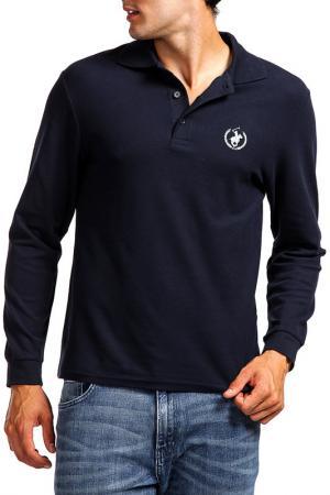 Рубашка-поло POLO CLUB C.H.A. Цвет: синий