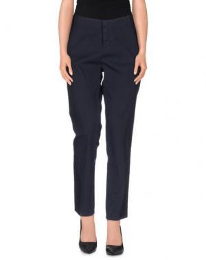 Повседневные брюки ZHELDA. Цвет: грифельно-синий