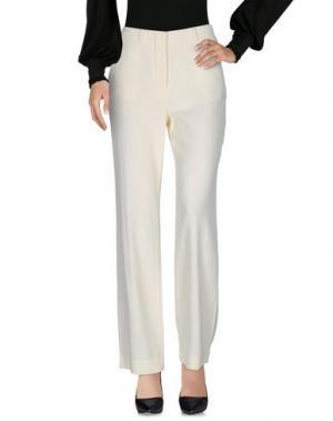 Повседневные брюки MAURO GRIFONI. Цвет: слоновая кость