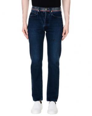 Джинсовые брюки KAPITAL. Цвет: синий