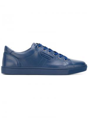 Кеды London Dolce & Gabbana. Цвет: синий