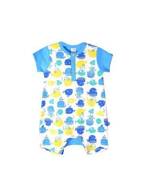 Песочник Crockid. Цвет: синий, голубой, желтый