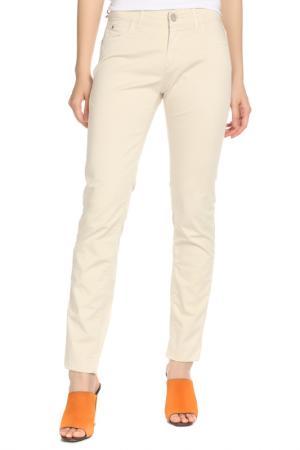 Брюки Trussardi Jeans. Цвет: бежевый