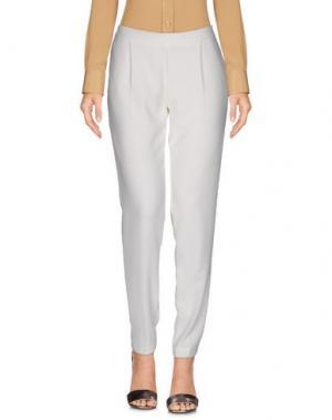 Повседневные брюки IMPERIAL. Цвет: белый