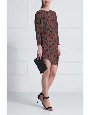 Шелковое платье Thakoon. Цвет: красный