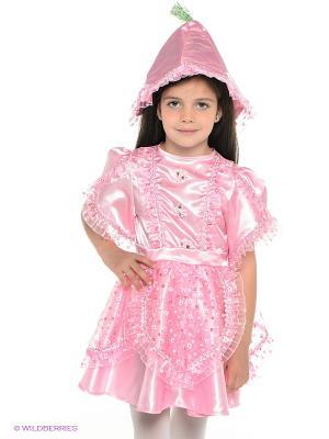 Карнавальный костюм Дюймовочка Батик. Цвет: розовый