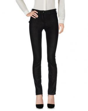 Повседневные брюки LEGZ. Цвет: черный