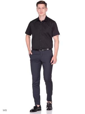 Рубашка BAWER. Цвет: черный