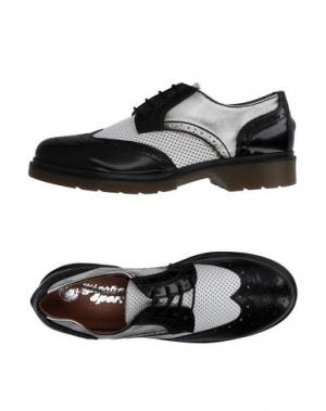 Обувь на шнурках GIACKO. Цвет: черный