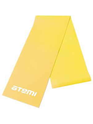 Эспандер-лента 0,5*120*1200 Atemi. Цвет: желтый