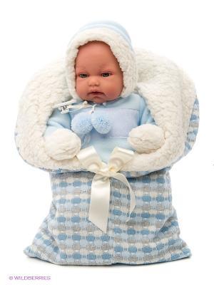 Кукла  Луиc озвученная Antonio Juan. Цвет: светло-голубой, светло-серый, молочный