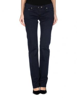 Повседневные брюки PARASUCO CULT. Цвет: темно-синий