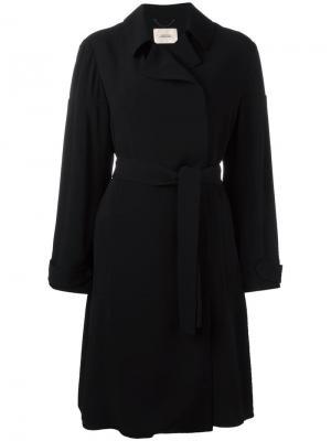 Пальто с поясом Dorothee Schumacher. Цвет: чёрный