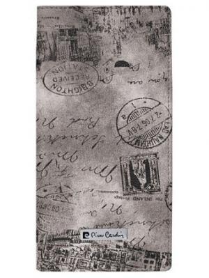 Трэвел-обложка Pierre Cardin, зеленая Vintage Cardin. Цвет: коричневый
