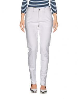 Джинсовые брюки SPARKZ. Цвет: белый