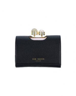 Бумажник TED BAKER. Цвет: черный