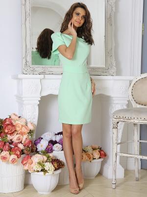 Платье Bezko. Цвет: светло-зеленый
