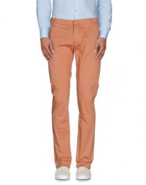 Повседневные брюки ENTRE AMIS. Цвет: какао