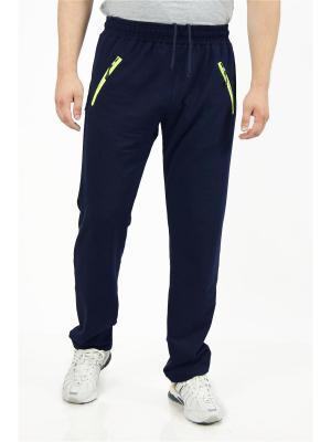 Спортивные брюки CROSS sport. Цвет: синий