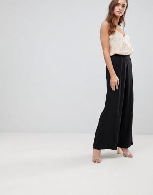 Finders Keepers Широкие брюки Carry On. Цвет: черный