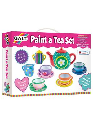 Набор для рисования Раскрась Чайный Galt. Цвет: розовый