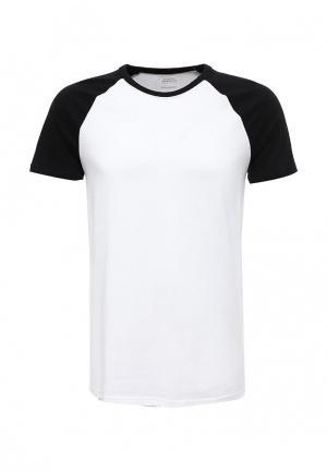 Футболка Burton Menswear London. Цвет: черно-белый