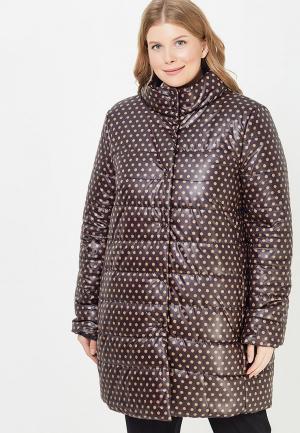 Куртка утепленная Over. Цвет: коричневый