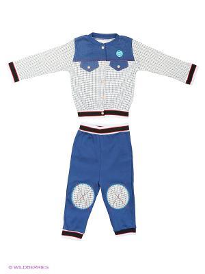Комплект одежды Babycollection. Цвет: синий, белый
