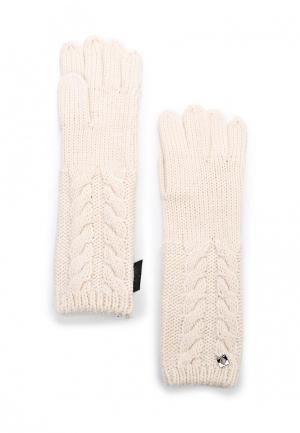 Перчатки Twin-Set Simona Barbieri. Цвет: белый