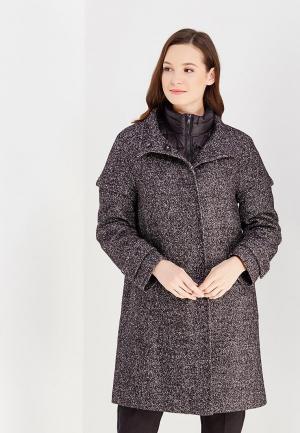 Комплект куртка и пальто pompa. Цвет: серый