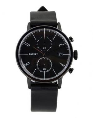 Наручные часы TSOVET. Цвет: черный