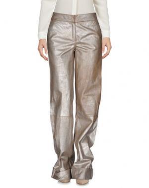 Повседневные брюки ROBERTA SCARPA. Цвет: хаки